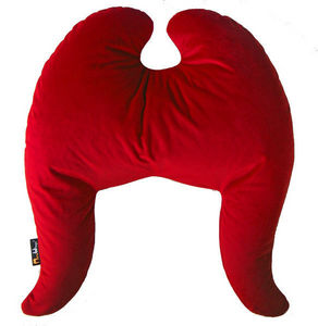 MEROWINGS - wings classic royal red texas - Ergonomisches Kopfkissen