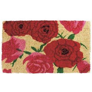 Gift Company - paillasson coco naturel - rose - Fussmatte