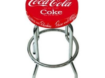 Avenue Of The Stars - tabouret de bar coca cola - Barhocker