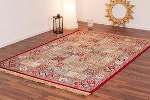NAZAR - tapis kashmir 160x230 red - Traditioneller Teppich