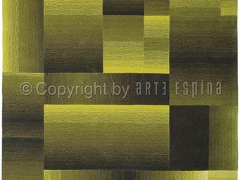 Arte Espina - tapis de salon digiworld vert 140x200 en acrylique - Moderner Teppich