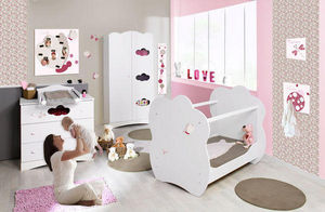 BABY SPHERE - chambre complète mobilier + deco petites ailes - Babyzimmer