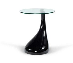 KOKOON DESIGN - table basse droplet noire 45x54cm - Beistelltisch