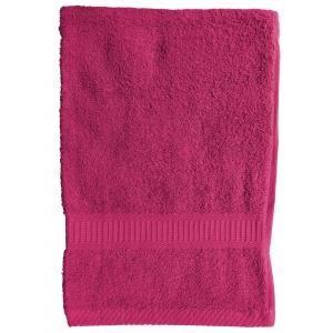 TODAY - serviette de toilette 50 x 90 cm - couleur - rose - Handtuch