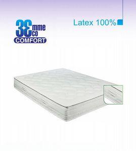 ECO CONFORT - matelas eco-confort 100% latex 7 zones 180 * 200 - Latexmatratze