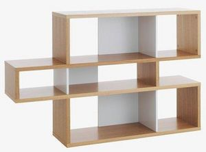TemaHome - temahome london bibliotheque design chêne compart - Bibliothek