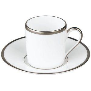 Raynaud - fontainebleau platine (filet marli) - Kaffeetasse