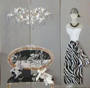 Sylvie les Meozzi -  - Dekorative Leinwand Für Den Innenbereich
