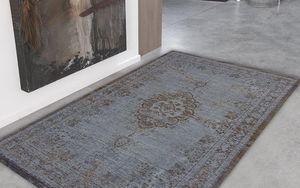 Louis De Poortere - grey ebony 8257 - Moderner Teppich