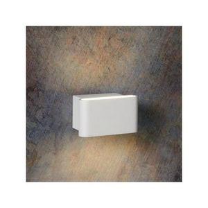 LUCIDE - applique extérieure led karo 11 cm blanc - Garten Wandleuchte