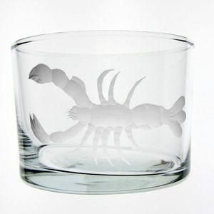 Au Bain Marie - verre droit bas homard - Glas