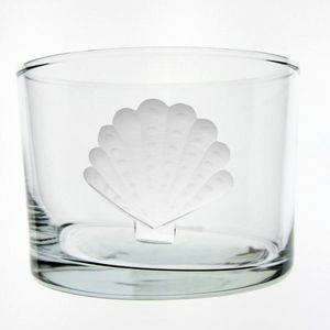 Au Bain Marie - verre droit bas coquille st jacques - Glas