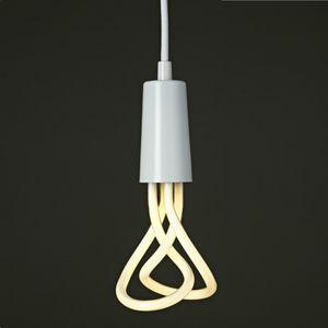 PLUMEN - plumen - suspension blanc et ampoule baby 001 | su - Deckenlampe Hängelampe