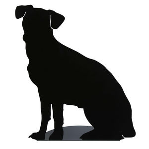 FrauMaier - fraumaier shape - lampe à poser attends! noir h44c - Tischlampen