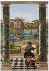 ATELIER ATHENAIS DECORS PEINTS -  - Trompe L'oeil Malerei