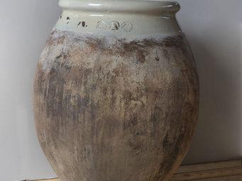 TERRES D'ALBINE - jarre olive h110cm, patine prestige - Gartenamphore