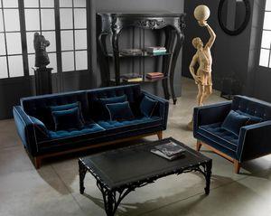 CHELINI -  - Sofa 3 Sitzer