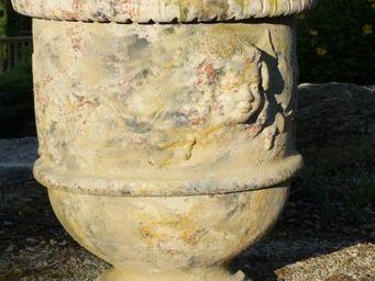 TERRES D'ALBINE - vase languedocien  - Garten Blumentopf