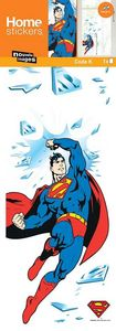 Nouvelles Images - sticker fenêtre superman - Kinderklebdekor