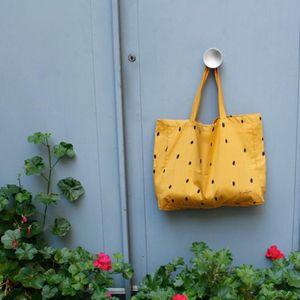 ma premiere box - moutarde - Einkaufstasche