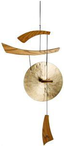 Woodstock Chimes - gong empereur éolien bronze grand - Gong