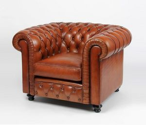 Techni Salons -  - Chesterfield Sessel