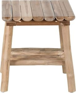 ZAGO - table d'appoint en teck refuge - Beistelltisch