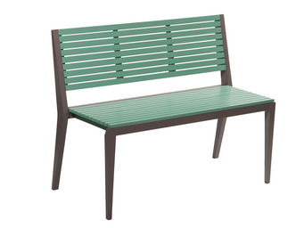 City Green - banc de jardin empilable portofino - 111 x 52.5 x  - Gartenbank