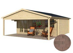 GARDEN HOUSES INTERNATIONAL - dépendance de jardin en bois landes bardeau droit  - Holz Gartenhaus