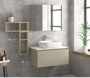 ITAL BAINS DESIGN - space 80 laque - Badezimmermöbel