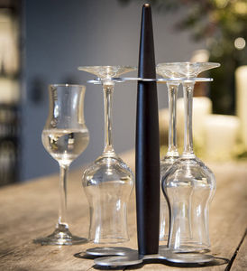 Legnoart - grappa glass - Gläserregal