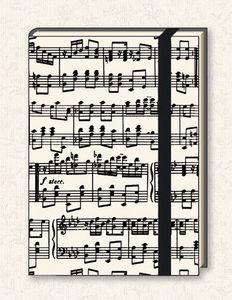 Tassotti - musica - Notizbuch