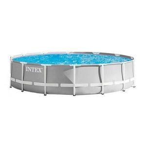INTEX - piscine hors-sol tubulaire 1422064 - Pool Mit Stahlohrkasten