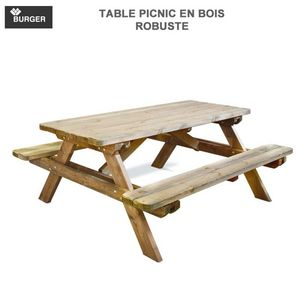 Burger -  - Picknick Tisch