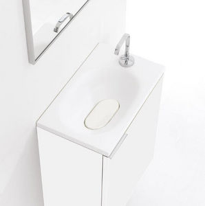 Thalassor - flyer 50 bianco - Handwaschbecken