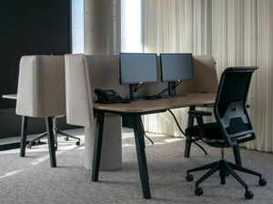 BUZZISPACE - buzziwrap-desk - Bürotrennungselement