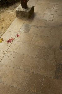 Occitanie Pierres - auberoche chataigne - Bodenplatten Außenbereich