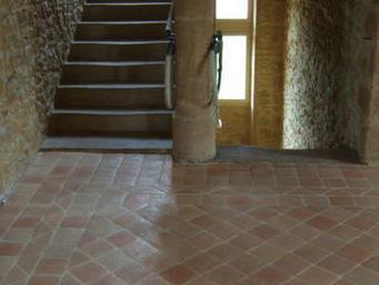 Ceramiques du Beaujolais - carrelages terre cuite antique - Bodenfliese, Terrakotta