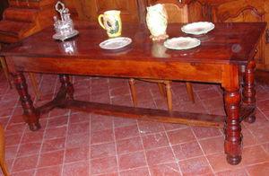 Antiquites Le Vieux Moulin -  - Rechteckiger Esstisch