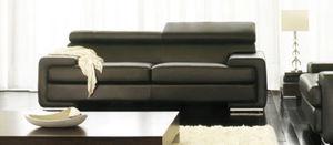 Canapé Show - canap? 2pl. grand luxe. cuir 2.5mm - Sofa 2 Sitzer