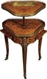Jean Lupu - louis xv caviar table - Kaviartisch
