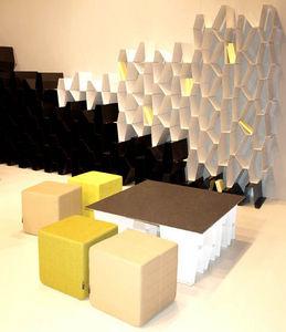 ITF 100% Design - salone del mobile milano 2009 - Couchtisch Quadratisch