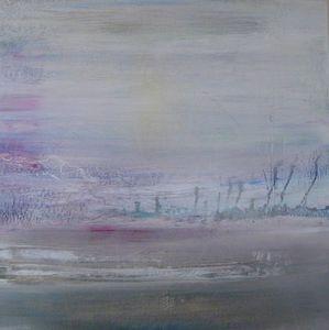 www.maconochie-art.com - ghost woods - Ölgemelde Auf Leinwand Und Holztafel
