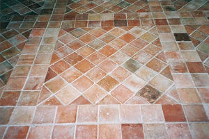 héritage. matériaux anciens - carrelage terre cuite ancien xvii et xviiieme - Bodenfliese, Terrakotta