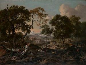 Robert C. NOORTMAN -  - Ölgemelde Auf Leinwand Und Holztafel