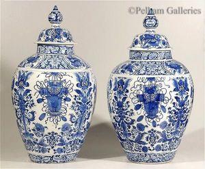 Pelham Galleries - London -  - Vase Mit Deckel
