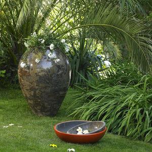 POTERIE GOICOECHEA - jarre ventrue fabrication à la corde - Gartenamphore