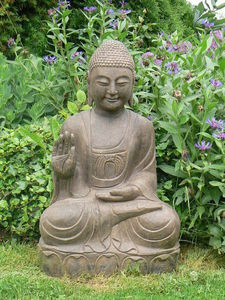 Asian-Decoration - bouddha assis - Statue