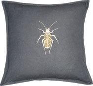 Barbara Coupe - gold bug - Kissen Quadratisch
