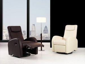 KIREMBO DECO - sillón relax cn-3016, piel/pvc - Ruhesessel